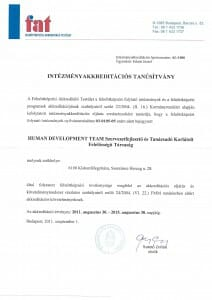 HDTeam-akkreditacio-2011